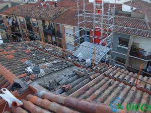 Rehabilitación cubierta en Barrio Delicias Zaragoza
