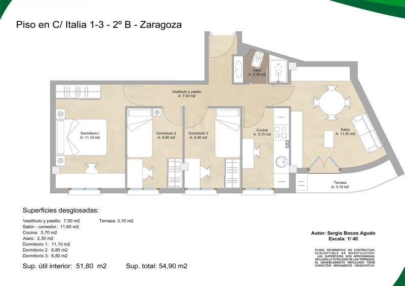 Reforma parcial de piso para alquiler zaragoza - Reformas de pisos en zaragoza ...