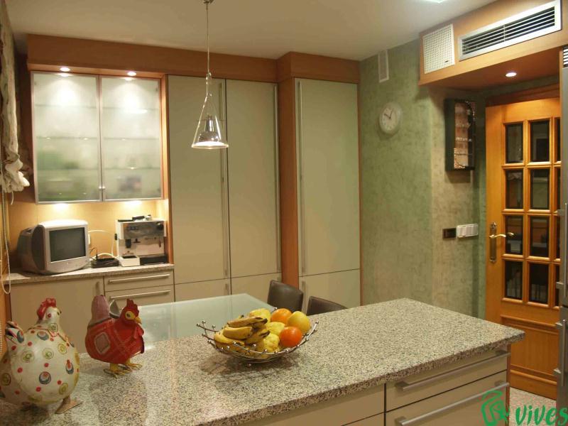 Reforma de cocina en piso situado en zaragoza espacios vives - Iluminacion para cocina comedor ...