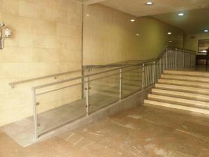 Nueva rampa para mejora de accesibilidad en Zaragoza