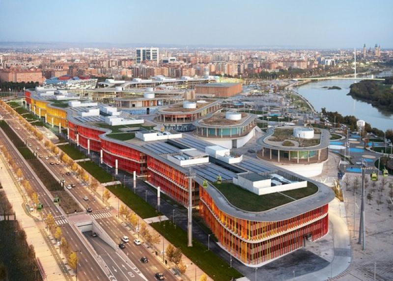Reutilizacin del espacio expo en zaragoza espacios vives for Estudios arquitectura zaragoza