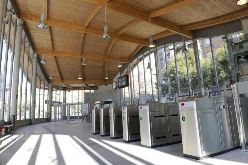 Estación de tren de Avenida Goya mejora las comunicaciones
