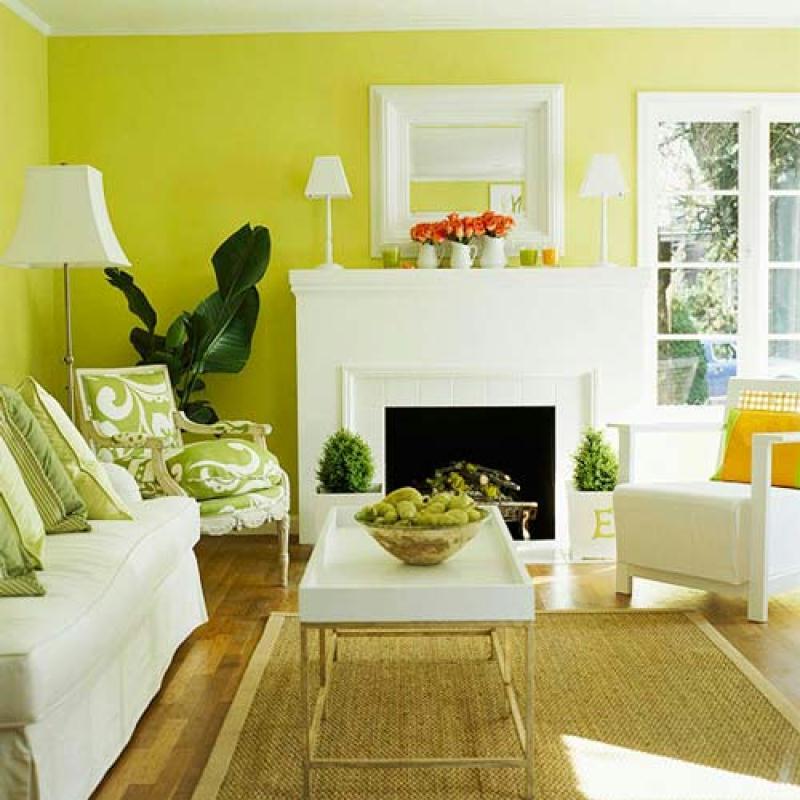 Decoracin de interiores con chimeneas espacios vives - Salon con chimenea ...